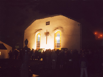 Lighting the Cross - 350th Anniversary